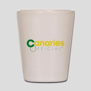 Norwich City Canaries Shot Glass