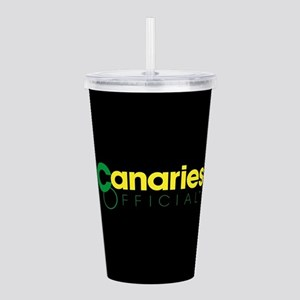 Norwich City Canaries Acrylic Double-wall Tumbler
