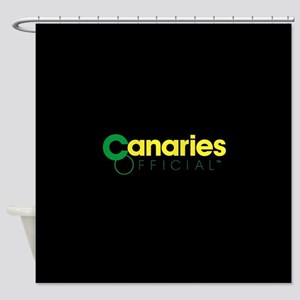 Norwich City Canaries Shower Curtain
