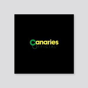 "Norwich City Canaries Square Sticker 3"" x 3"""