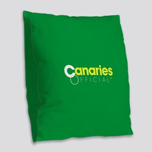 Norwich City Canaries Burlap Throw Pillow