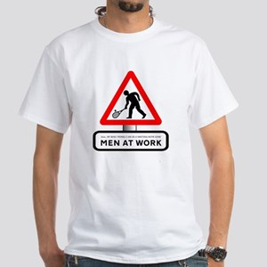 I'm In a Meeting - Mens White T-Shirt