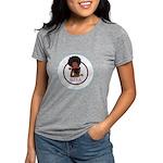 Diva Logo Womens Tri-Blend Short Sleeve T-Shirt