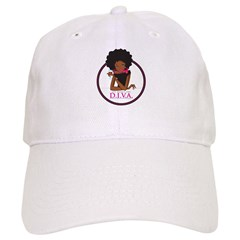 Diva Logo Baseball Cap