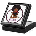 Diva Logo Keepsake Box