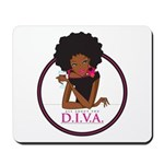 Diva Logo Mousepad