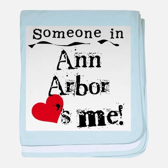 Ann Arbor Loves Me Infant Blanket