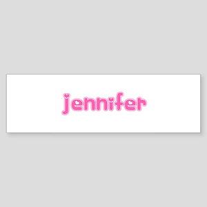 """Jennifer"" Bumper Sticker"