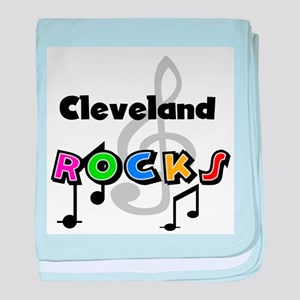 Cleveland Rocks Infant Blanket