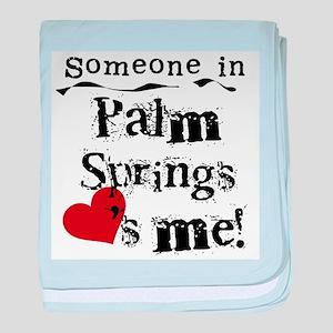 Palm Springs Loves Me Infant Blanket