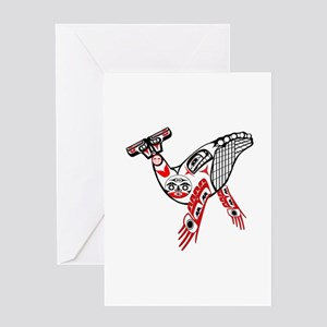 SHOW THE WORLD Greeting Cards