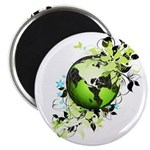 "Live Green 2.25"" Magnet (10 pack)"