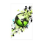 Live Green Sticker (Rectangle 10 pk)