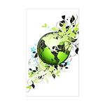 Live Green Sticker (Rectangle)