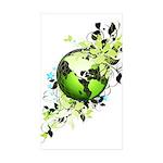Live Green Sticker (Rectangle 10 pk)