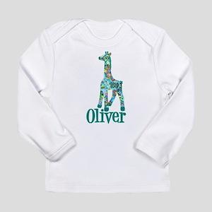 Oliver's Girraffe Long Sleeve Infant T-Shirt
