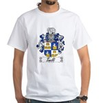 Tinelli Coat of Arms White T-Shirt