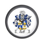 Tinelli Coat of Arms Wall Clock