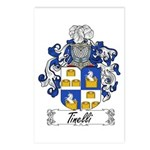 Tinelli Coat of Arms Postcards (Package of 8)