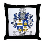 Tinelli Coat of Arms Throw Pillow