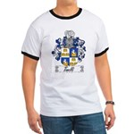 Tinelli Coat of Arms Ringer T