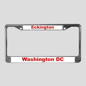 Eckington License Plate Frame