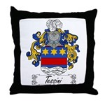 Tessini Coat of Arms Throw Pillow