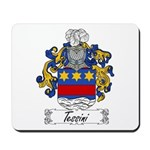 Tessini Coat of Arms Mousepad