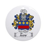 Tessini Coat of Arms Ornament (Round)