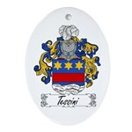 Tessini Coat of Arms Oval Ornament