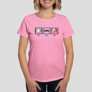 Eat Sleep Act Women's Dark T-Shirt