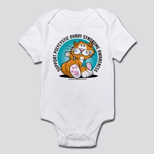 PCOS Cat Infant Bodysuit