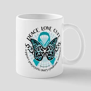 PCOS Tribal Butterfly Mug