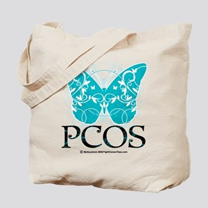 PCOS Butterfly Tote Bag