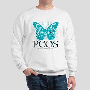 PCOS Butterfly Sweatshirt