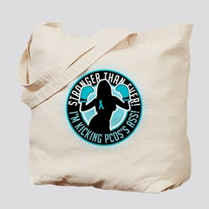 PCOS Boxing Girl Tote Bag