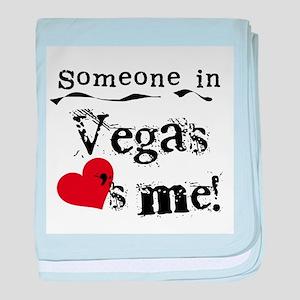 Vegas Loves Me Infant Blanket