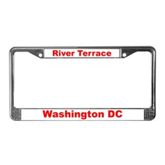 River Terrace License Plate Frame