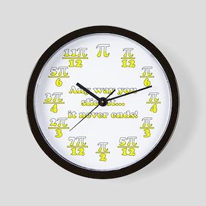 Lemon Meringue Pi Wall Clock