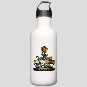 Seniors ~ Stainless Water Bottle 1.0L