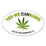 Cannabis Sticker (Oval)