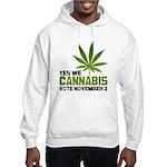 Cannabis Hooded Sweatshirt