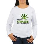Cannabis Women's Long Sleeve T-Shirt
