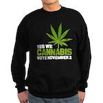 Cannabis Sweatshirt (dark)