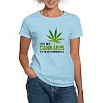 Cannabis Women's Light T-Shirt