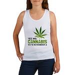 Cannabis Women's Tank Top