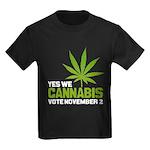 Cannabis Kids Dark T-Shirt