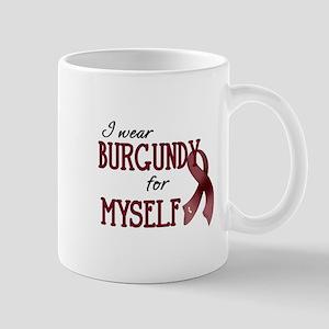 Wear Burgundy - Myself Mug