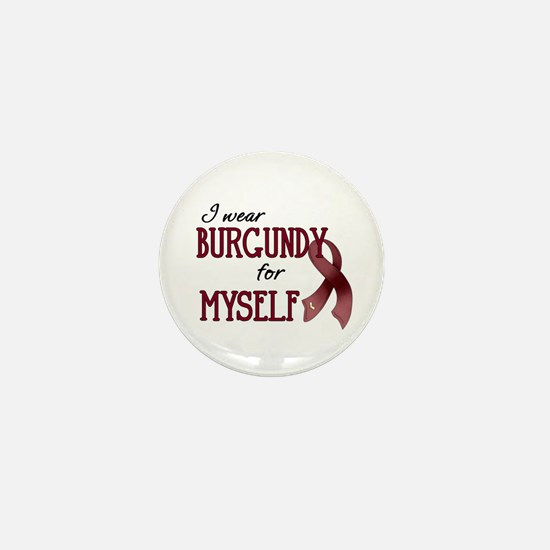 Wear Burgundy - Myself Mini Button