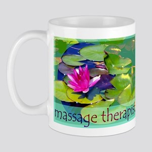Massage Therapist / Waterlily Mug